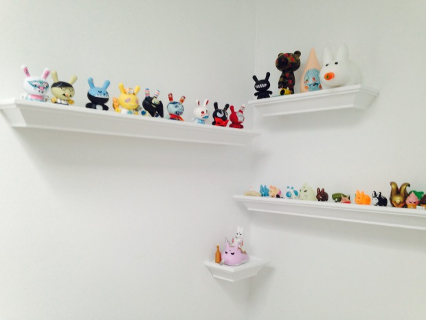 At the top of the stairs lies a magical Munny/Dunny land