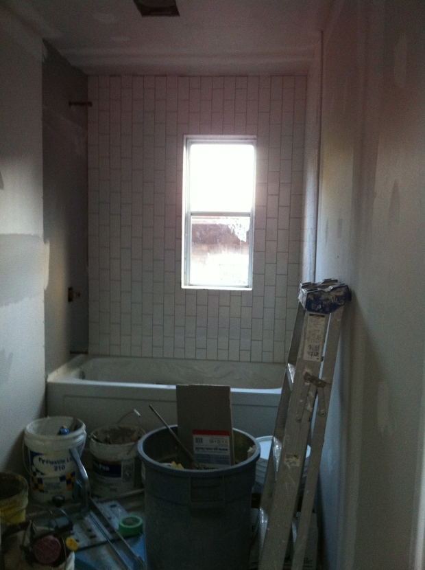Hello vertical subway tile!