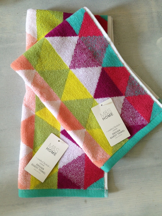 Colourful, Delicious, Graphic Hand Towels