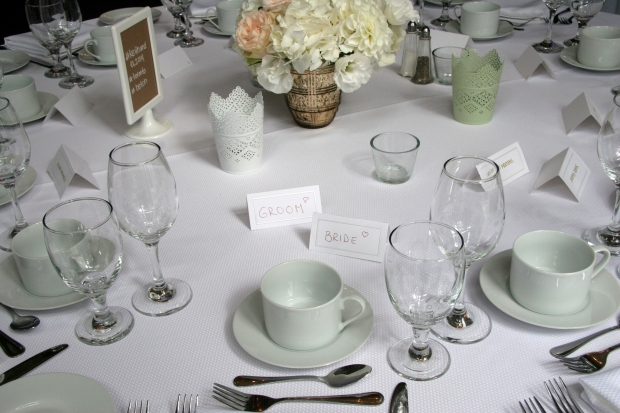 BFD Wedding Table Setting