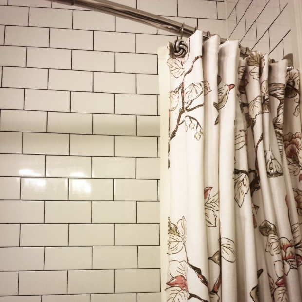 Target shower curtain