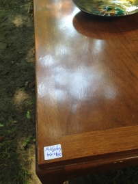 TEAK COFFEE TABLE $80 from @retrodromme RIDICULOUS