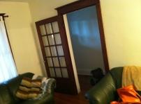 When the wood doors were still just... wood doors