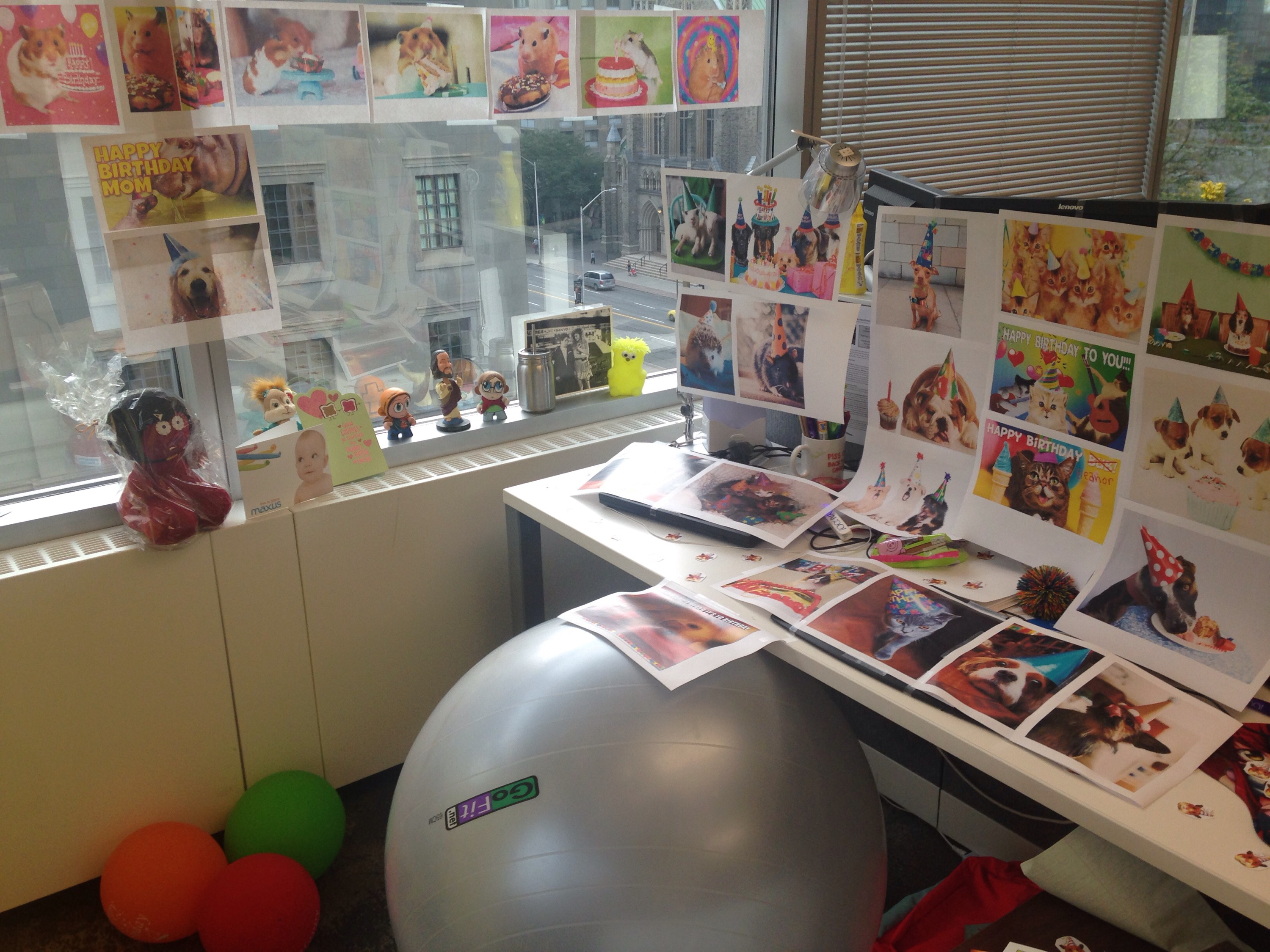 How Decorate Desk For Birthday Decoratingspecial