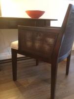 Soho Chair Dark with Cream Seat