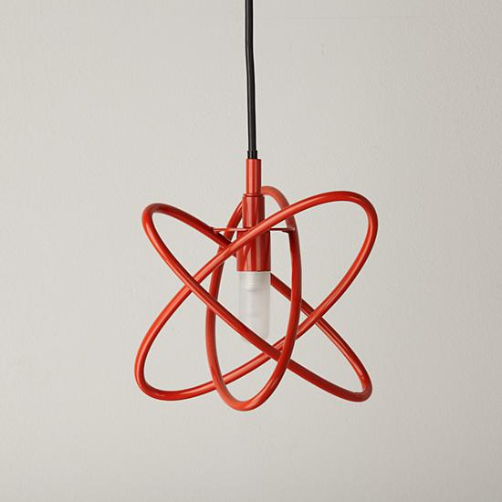 electron-pendant-lamp-red