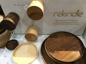 Various knobs, bowls and accoutrements from www.rekindleyourlife.ca