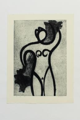 e - Robert Achtemichuk; Etching, 1982 $800.00