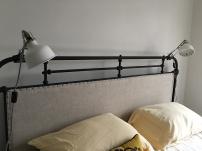 Bedroom clamp lamps