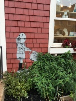 Even the faux Banksy is quaint! CANNOT EVEN DEAL