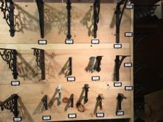 Iron shelf brackets from $10...