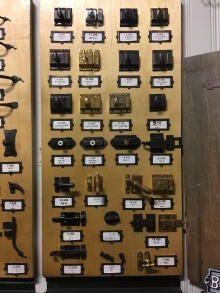 Cabinet hardware for sprucing up the kitchen perhaps?
