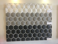 3D honeycomb but the black was sold out (waaaaah)