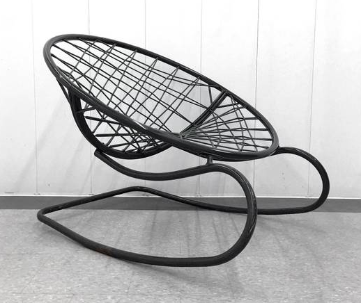 rocking MCM rocking chair $150 #craigslistfinds #bfdtoronto