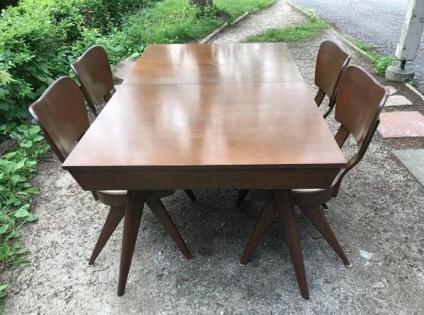 MCM Dining Room Set w 4 chairs $850 #craigslistfinds #bfdtoronto